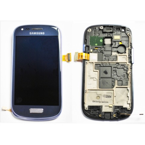 Front-Samsung-I8190-Galaxy-S3-Mini-Blue-LCD-Touch-Screen-Frame